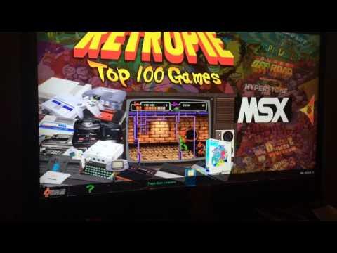 Retro arcade system