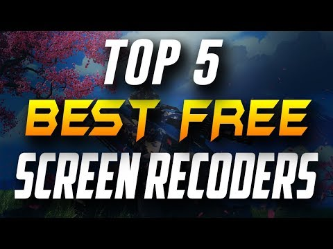 Top 5 Free Screen Recorder Software For Windows ✔️