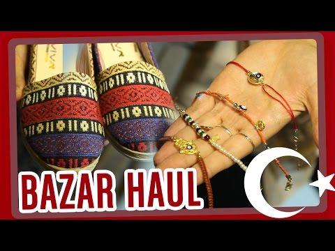 Grand Bazar Shopping - Souvenir Haul - Istanbul