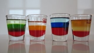 How-to : Layer A Drink (fourth Of July Shot)