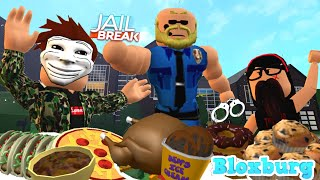 WE GOT ARRESTED FOR STEALING! (Roblox Bloxurg Roleplay)