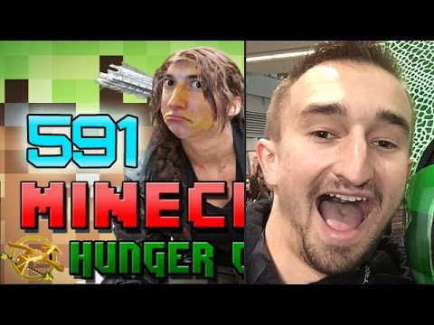 Minecraft: Hunger Games w/Mitch! Game 591 - Jerome Was Here LOLOLOLOL!