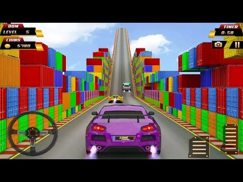Impossible Car Stunts Driving 2019 #Android Game Play FHD #Car Games To Play #Driving Games Download