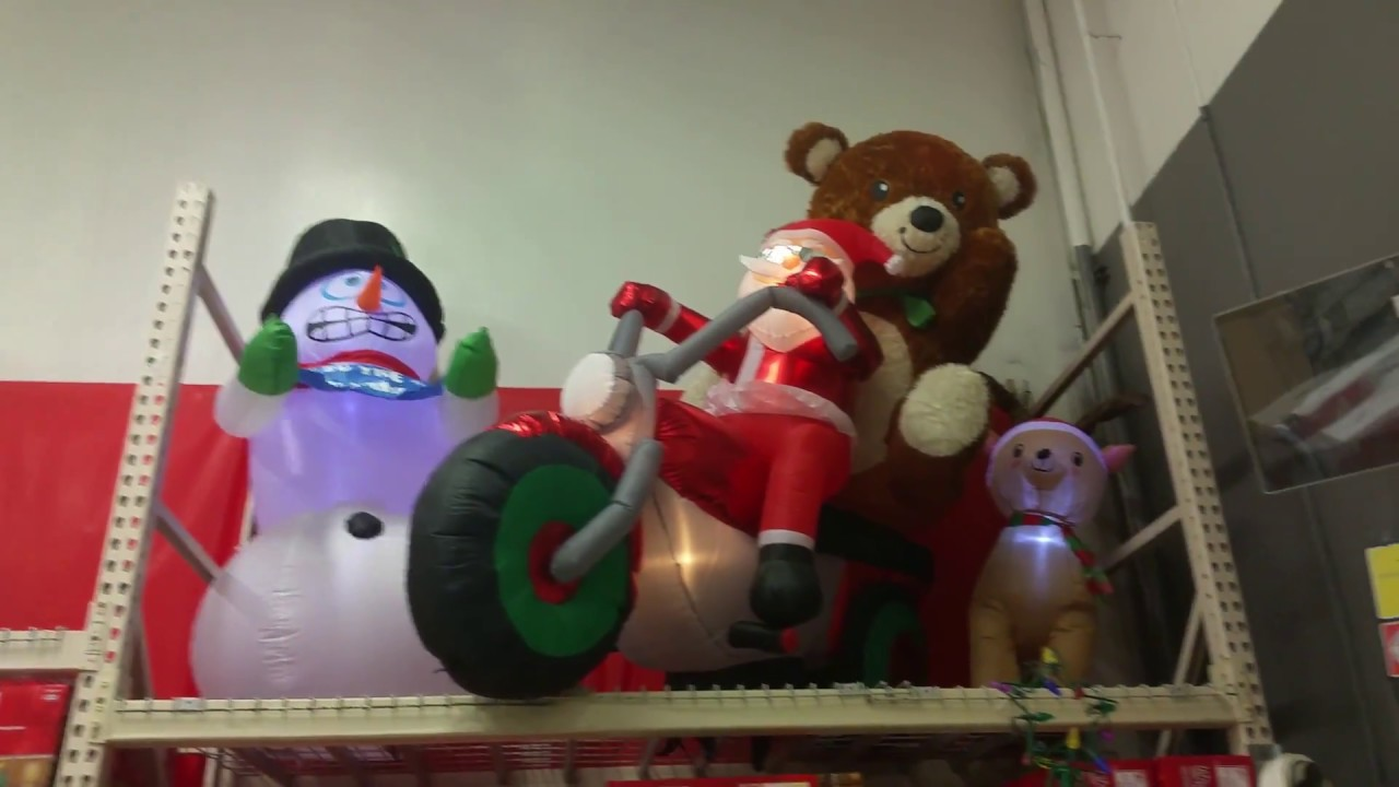 Christmas Decorations At Home Depot 2018 Youtube