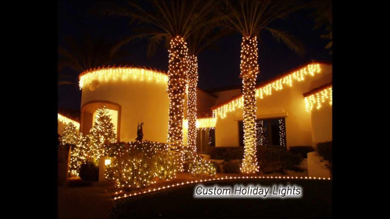 custom holiday lights scottsdale az 480 675 0151