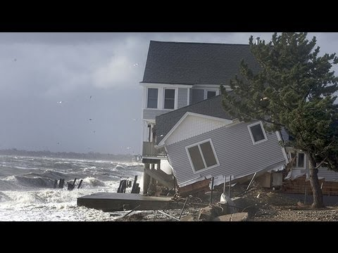 Superstorm Sandy Leaves 500-mile Trail Of Destruction