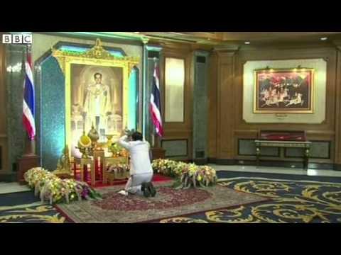 BBC News   Thai coup  Leader Gen Prayuth receives royal endorsement 3