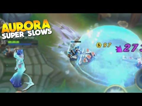 Mobile Legends AURORA GAMEPLAY! (New Hero)