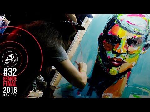 Art Battle Brasil #32: Grande Final 2016 - 08/12/2016