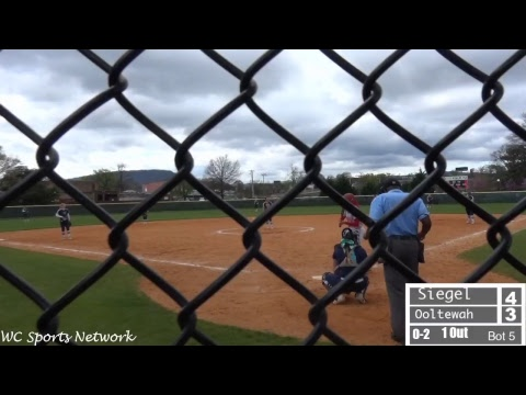 Siegel Softball vs Ooltewah High School: Lady Trojan Invitational