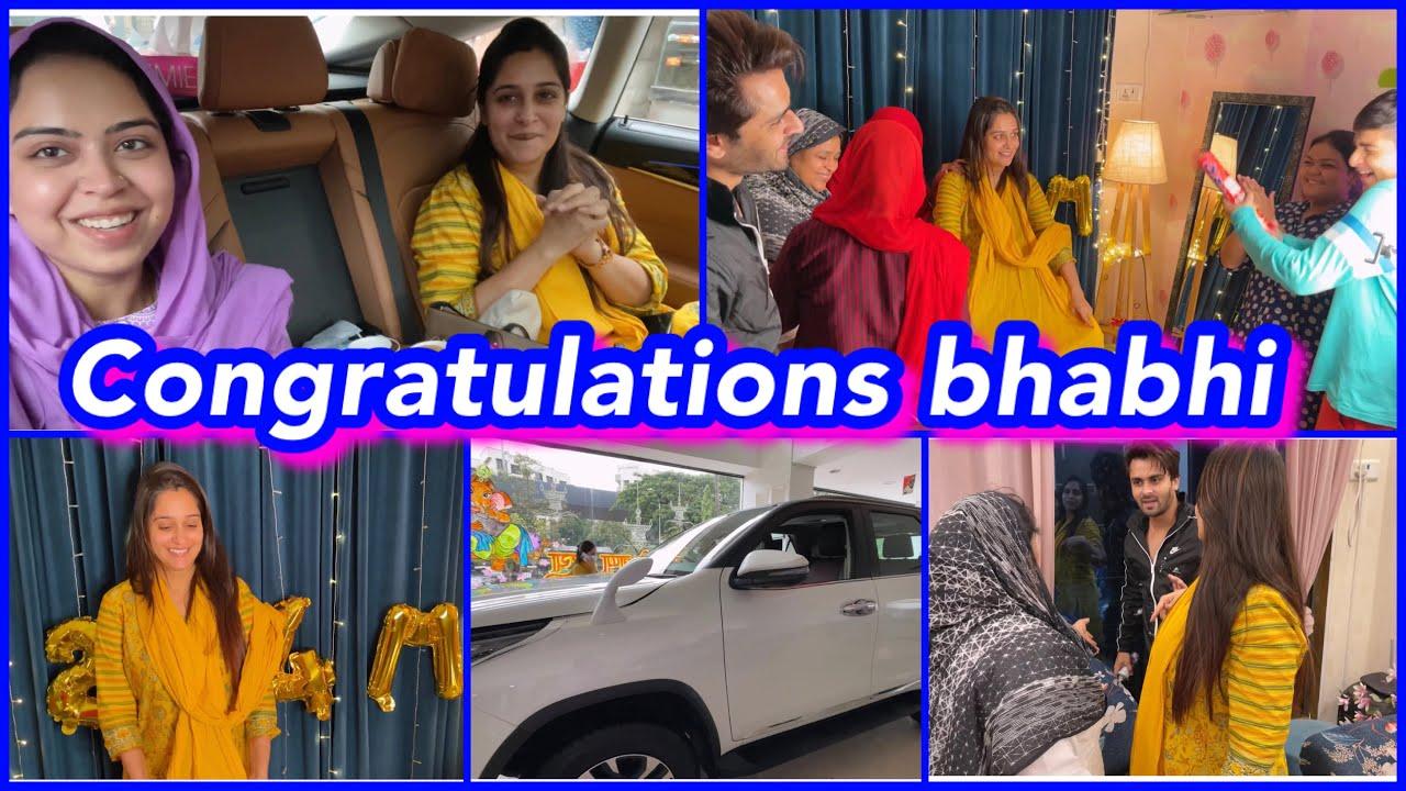 Download @Dipika Ki Duniya 2.4 million celebration 🎉 | car 🚗 bhi book ho gayi | ibrahim family | vlog