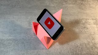 Подставка для телефона из бумаги. DIY. How to make a phone stand
