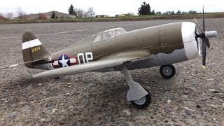 e flite umx p 47 thunderbolt wwii warbird rc plane scale flight