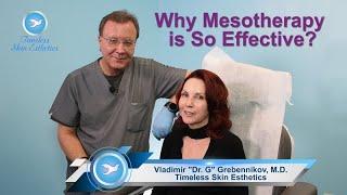 What is Mesotherapy? By Vladimir Dr G Grebennikov of Timeless Skin Esthetics