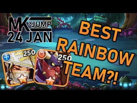 IDLE HEROES: Wait?! Did we just find the best rainbow team?