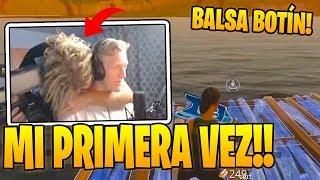 Tfue MUESTRA Su **PRIMERA PARTIDA EN FORTNITE** !! 😨😨 (SU PRIMERA VEZ) thumbnail