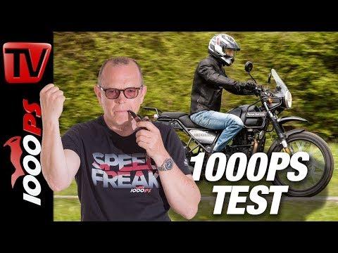 Royal-Enfield Himalayan Test - Retrobike 2018 Vergleich Teil 8 von 8