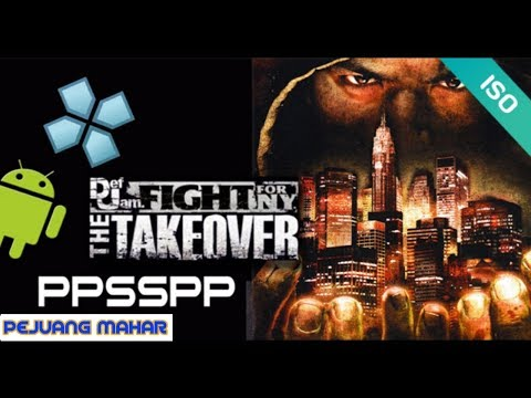 Download Def Jam Fight For NY The Takeover PPSSPP Iso Lite For Android
