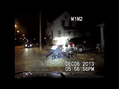 Kansas City Police Officer Smashes Man's Face Into Ground During Arrest