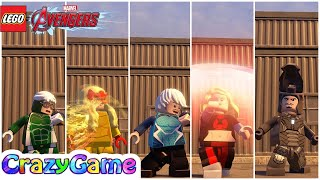 All #Speedsters Free Roam - #LEGO MARVEL's Avengers