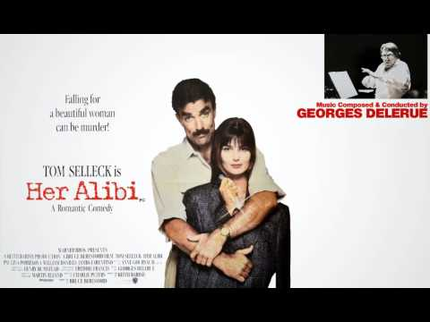 """Georges Delerue's music score from """"HER ALIBI"""" (1989) End Credits."""