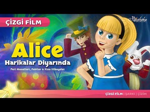 alice harikalar diyarında çizgi film türkçe masal 12  adisebaba çizgi film masallar