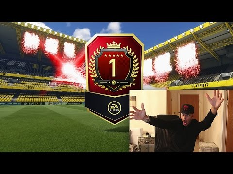 TOP 1 IN THE WORLD FUT CHAMPIONS REWARDS PACK!! BEST FIFA 17 FUT CHAMPS PACK OPENING!