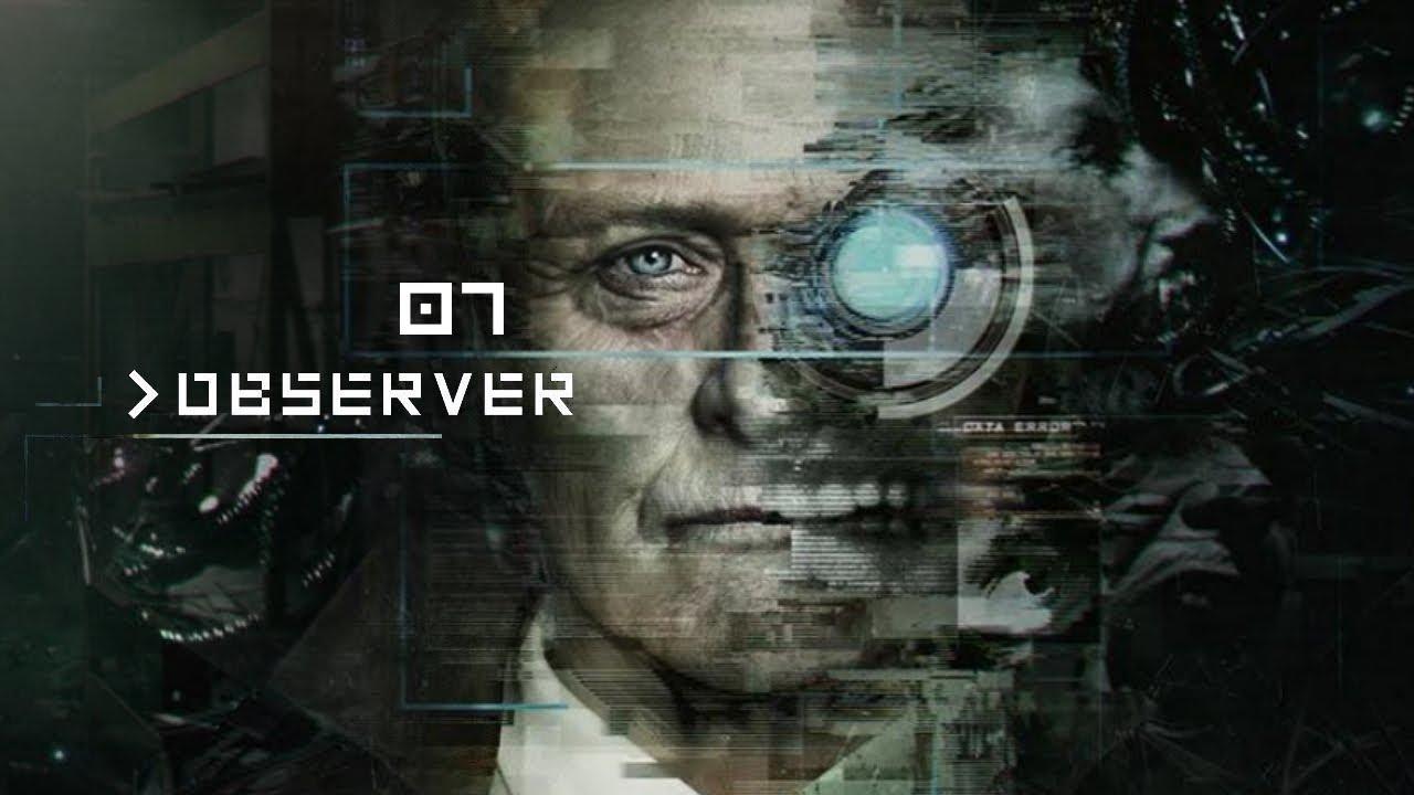 Observer (PL) #7 – Dwa zakończenia (Gameplay PL / Zagrajmy w)