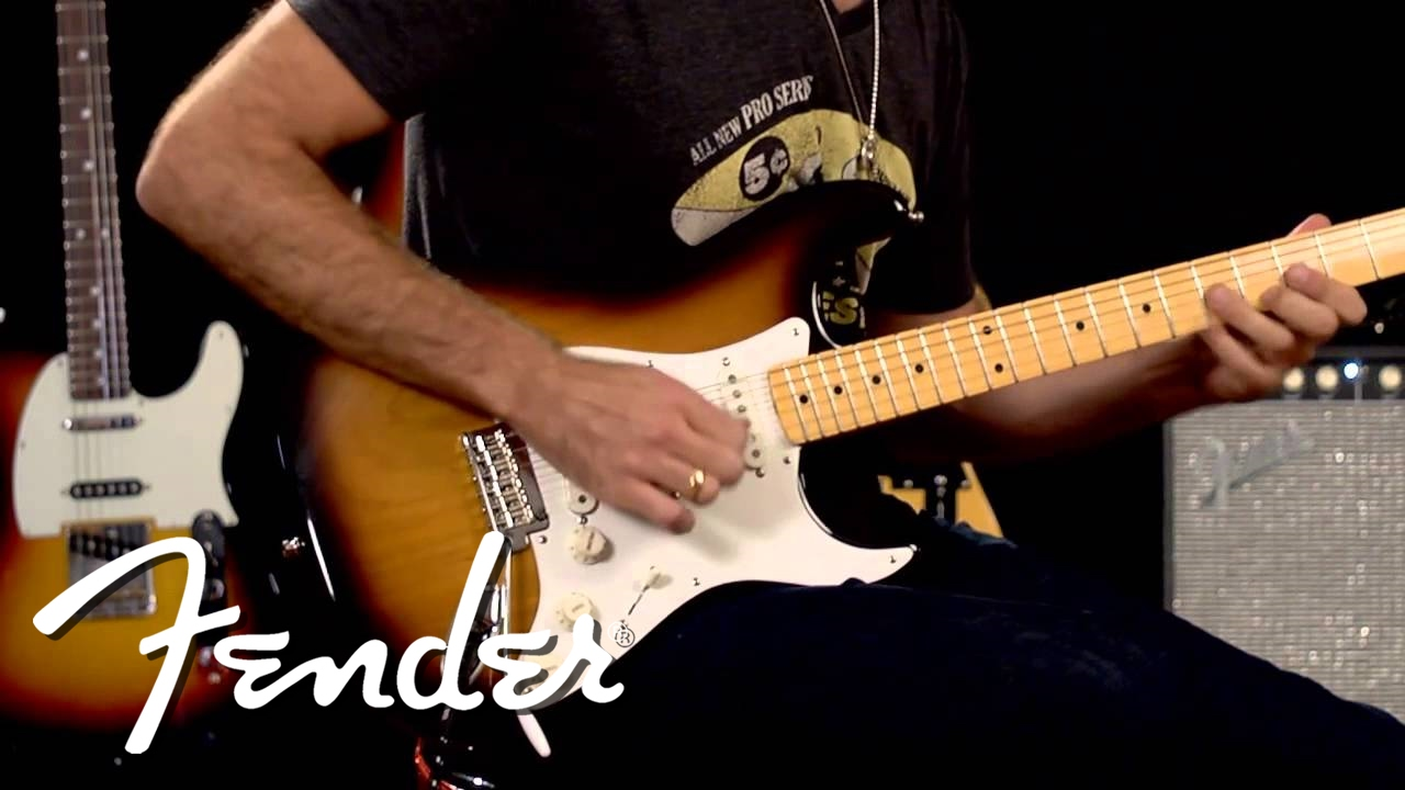 Fender Vintage Hot Rod '50s Stratocaster Demo   Fender
