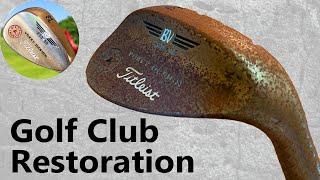 Golf Club Restoration Ruṡty to Amazing Showroom Finish ($5 eBay Purchase)
