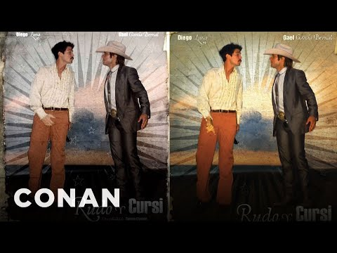 U.S. Cinemas Censored Diego Luna's Ball Grab   CONAN on TBS