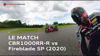 Essai comparatif Honda CBR1000RR R vs SP 2020 - Pilote Moto GP avec GoPro Max