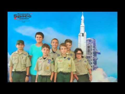 Boy Scout Troop 433 Space Exploration Merit Badge Kennedy Space Center