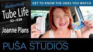 Social Media for a YouTube Channel | Joanne Plans | Tube Life S02 * E38 on Puša Studios!