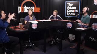 Mike Lynch Joe and Dani Pantoliano The Adam Carolla Show