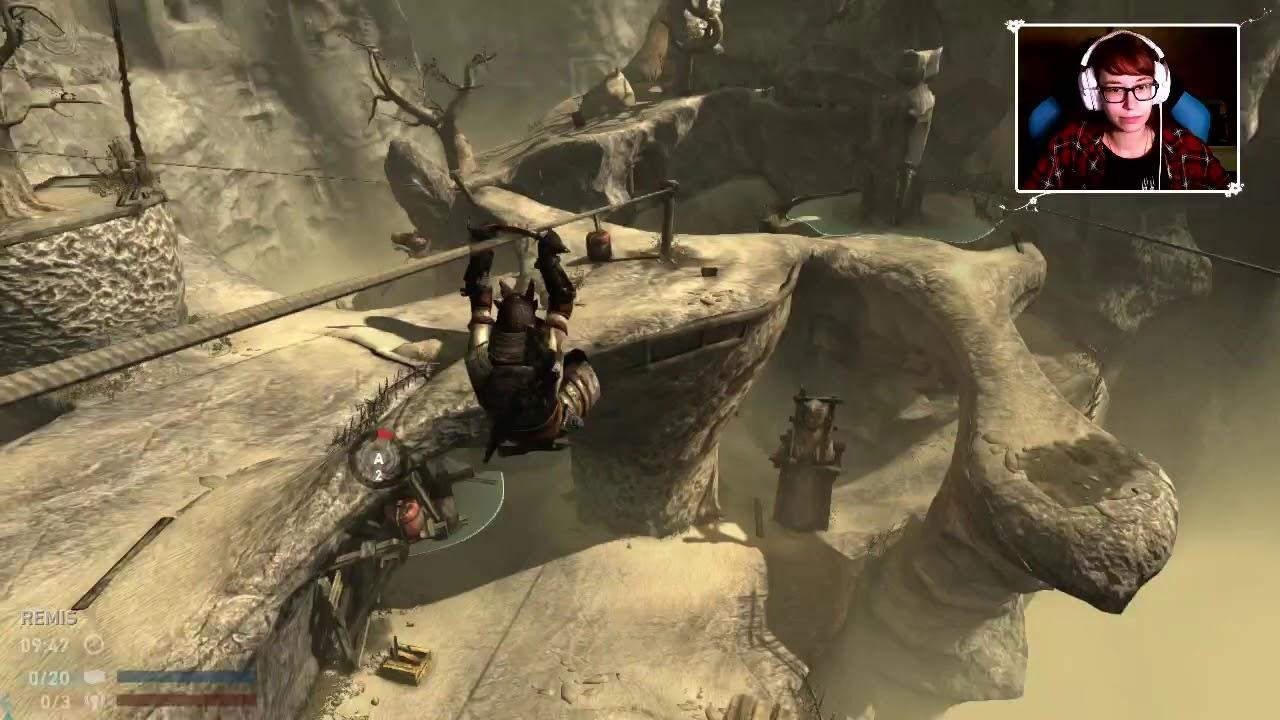 """[Archiwum] Live – Tomb Raider multi z widzami! (1) – [3/3] – """"Skill opadł"""""""