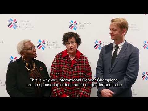 Gender champions for WTO gender & trade declaration
