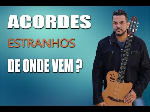 ACORDES QUE NÃO PERTENCE AO CAMPO HARMÔNICO !!