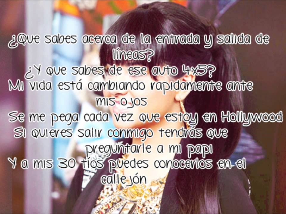 Lyric Shower Becky G Lyrics