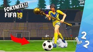 FIFA 18 I FORTNITE **fotbolls VM** FORTNITE PÅ SVENSKA!
