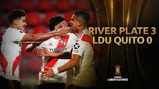 River Plate vs. LDU Quito [3-0] | RESUMEN | Fase de Grupos | CONMEBOL Libertadores