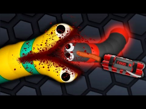 Slither.io - PERFECT GIANT SNAKE #5 // Epic Slitherio Gameplay! (Slitherio Funny Moments)