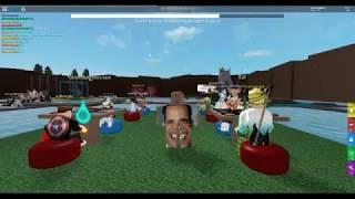 obama dances to wii music | Roblox | Mocap Dancing |