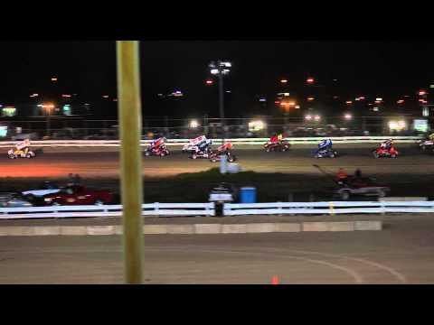 EWSC Racing MSA Sprint Car Feature 9/1/2012