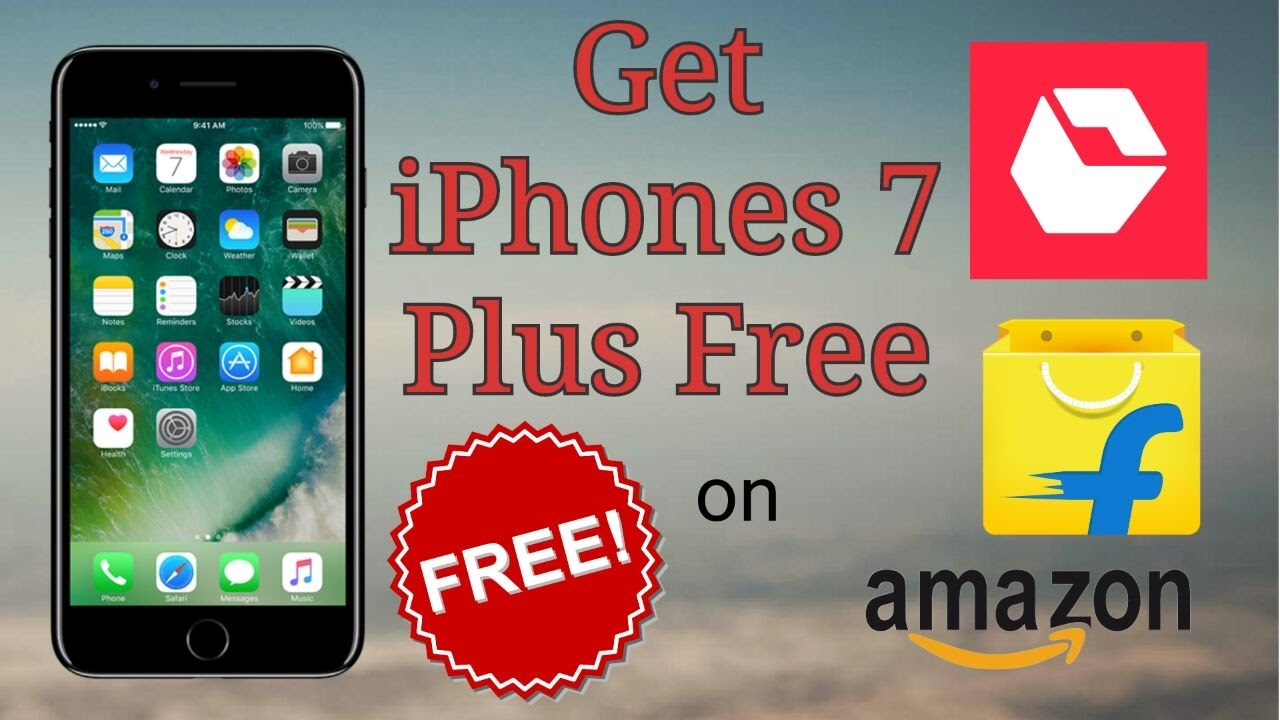 How To Get Iphone For Free Win Le 5 6 6s 7 Plus On Flipkart Etc