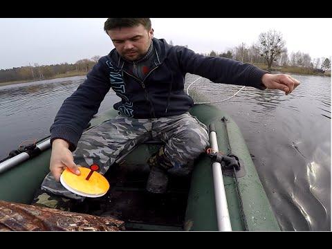 Ловля щуки на живца, рыбалка на кружки, кружки с якорями. Pike Fishing