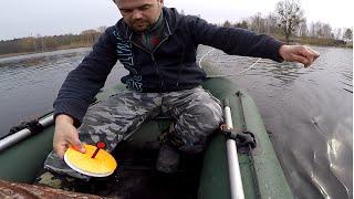 Ловля щуки на живца, рыбалка на кружки, кружки с якорями. Pike Fishing(http://restfishing.com.ua/ интернет магазин рыболовных товаров. Ловля щуки на кружки с якорями ранней весной., 2016-03-22T18:40:04.000Z)