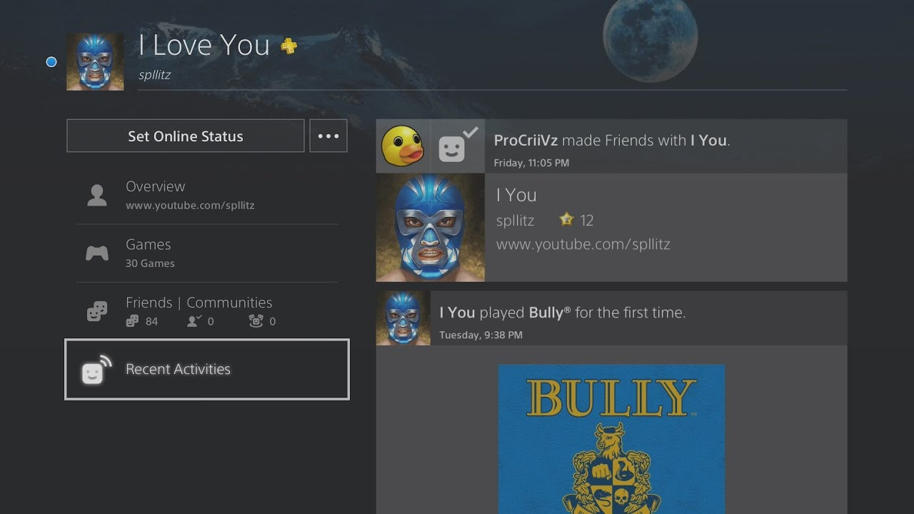 How to Delete Recent Activity on PS4