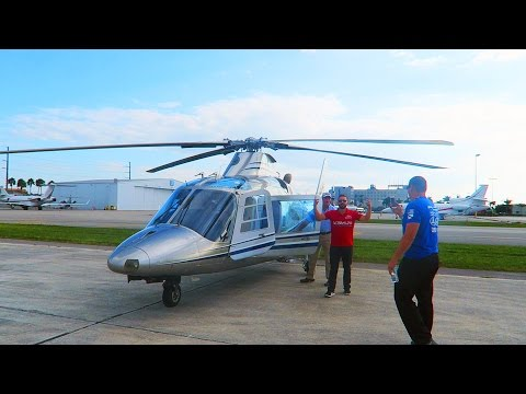 $2 MILLION PRIVATE HELICOPTER RIDE!