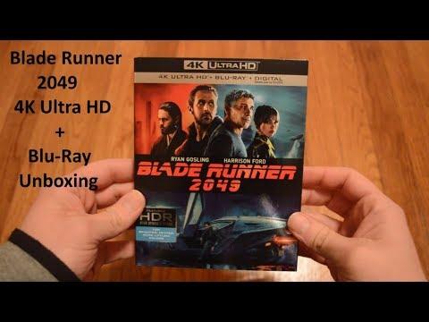 Unboxing Blade Runner 2049 4k Ultra Hd Blu Ray Set Youtube